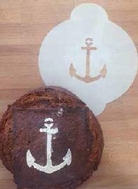 pochoir alimentaire pain farine moulins familiaux