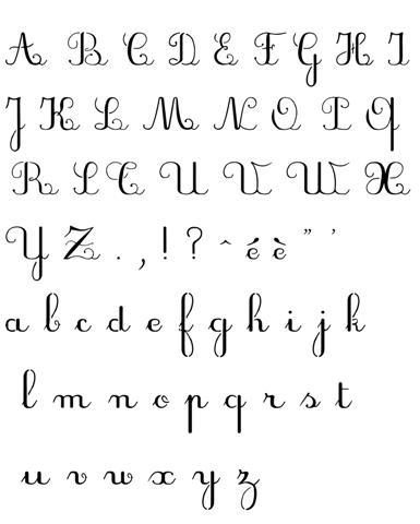 pochoir d 39 alphabet criture scolaire majuscules minuscules. Black Bedroom Furniture Sets. Home Design Ideas