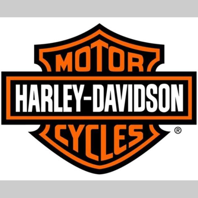 Autocollant logo harley davidson