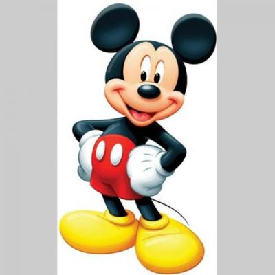 Autocollant Mickey debout