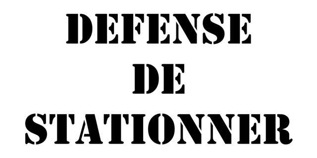 Defense de stationner small