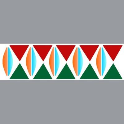 Pochoir frise g om trique for Pochoir geometrique