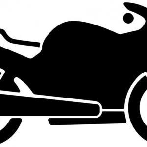 Marq8104 pochoir moto parking signalisation sol deux roues