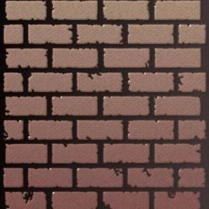 Mur6592 pochoir mur de briques couleur ok small