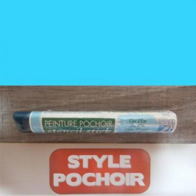 Peinture solide bleu ciel d'été Lefranc Bourgeois