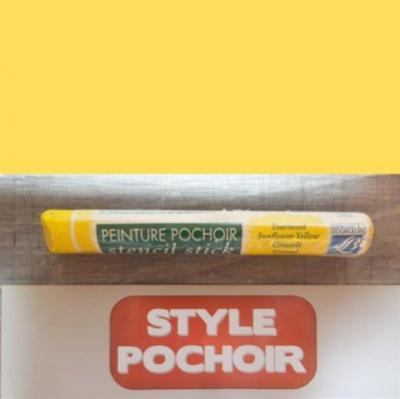 Peinture solide jaune tournesol Lefranc Bourgeois