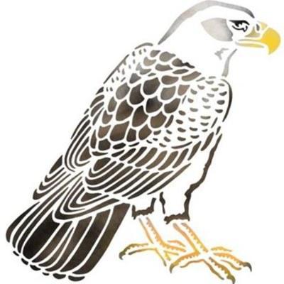 pochoir aigle