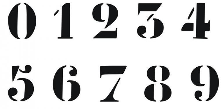 pochoirs alphabets r utilisables volont plastique pais ou bois. Black Bedroom Furniture Sets. Home Design Ideas