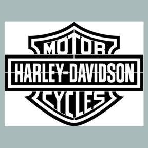 Pochoir Harley Davidson