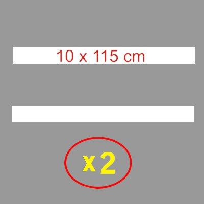 Pochoir lignes blanches 10 cm signalisation routes