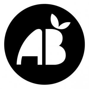 Pochoir logo ab agriculture biologique mon artisane 1