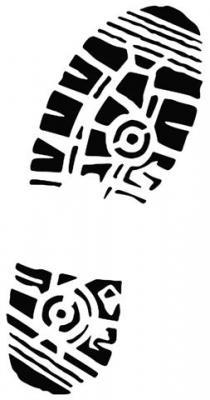 Trace de pied