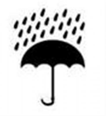 Pochoir picto Parapluie