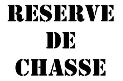 RESERVE DE CHASSE