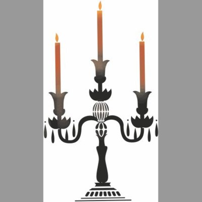 Chandelier bougies