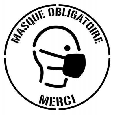 Cercle masque obligatoire