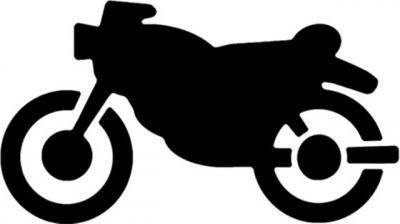 pochoir pictogramme Moto