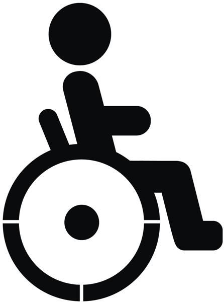 Marq30025 pictogramme handicape moderne