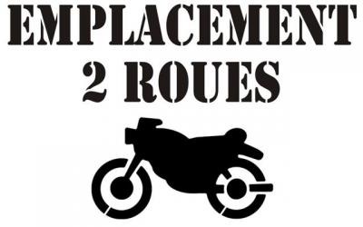 Emplacement 2 roues