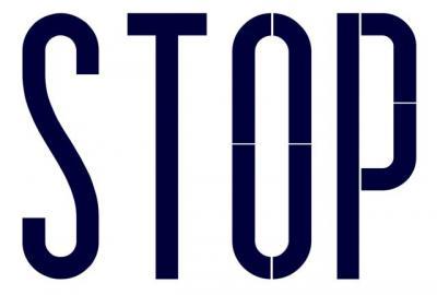 Marquage STOP