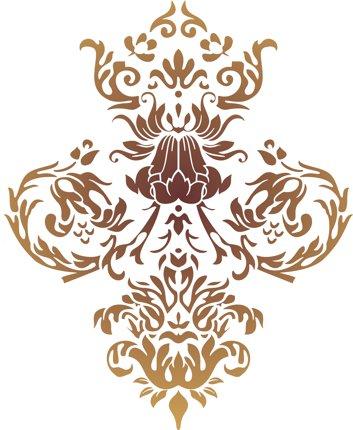 Motif baroque tapisserie