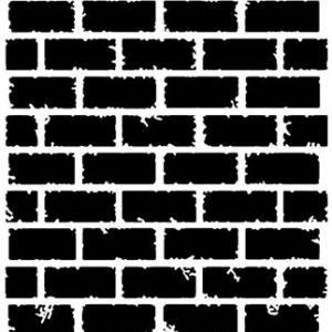 Mur6592 mur de briques pochoir small