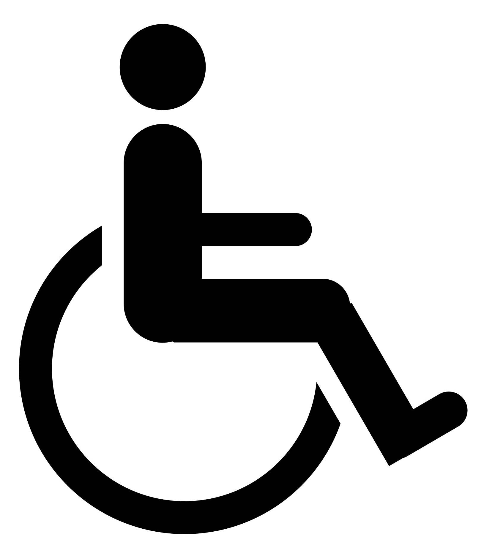 Picto marquage handicape
