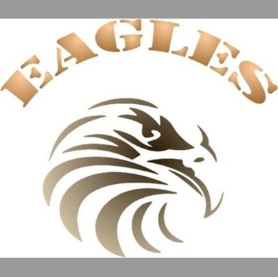 pochoir aigle eagles