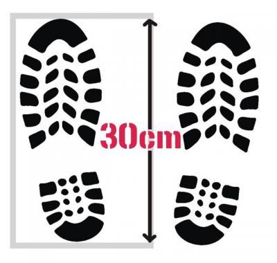 Empreintes de chaussures