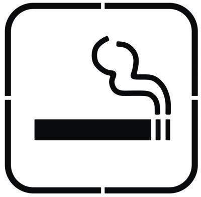 pochoir cigarette