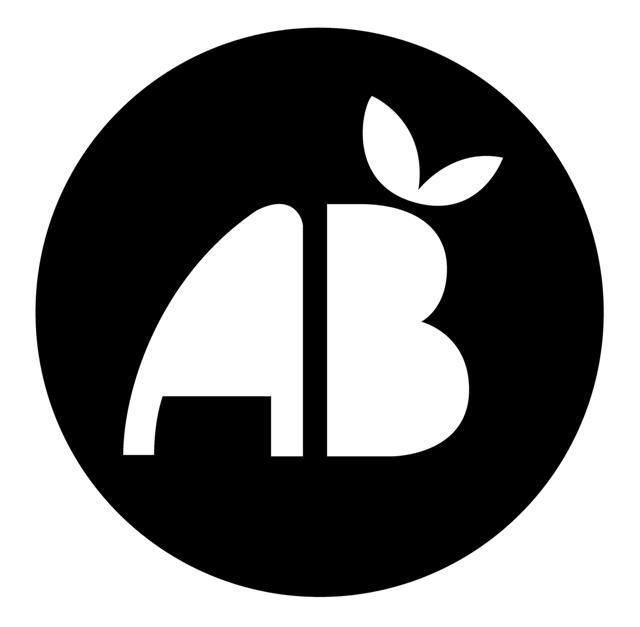 Pochoir logo ab agriculture biologique mon artisane
