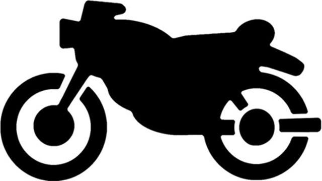 Pochoir moto
