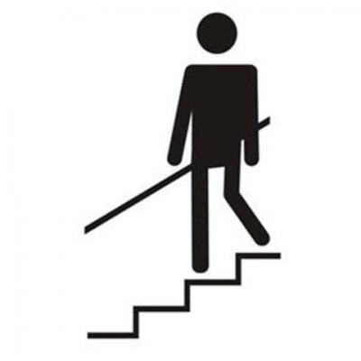 Pochoir escalier