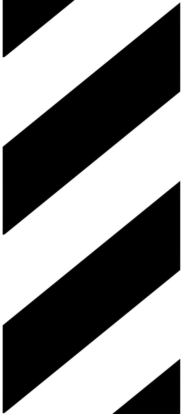Pochoir zebras 103x46 cm parallelogrammes de 60x20 cm