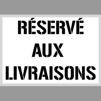 Reserve aux livraisons