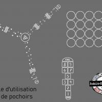 Utilisation pochoir kit cour decole pochoirs jeux exterieurs pochoirs signalisation mon artisane 1